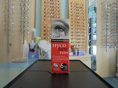 Hycosan Extra Eye Drops 7.5ml Preservative Free RRP £10.99