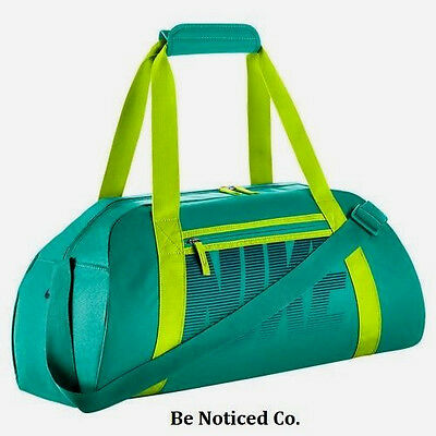 Nike Gym Club Training Duffel Bag Teal Green Back Pack Casual Training New 815eae7d4a75d