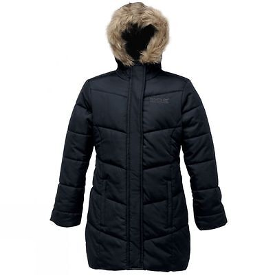 Regatta Blissful Womens Waterproof Quilted Hooded Insulated Jacket - UK 10(£60+)