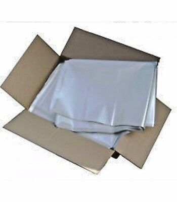 "CLEAR HEAVY DUTY 250 GAUGE WASTE BIN LINER BAG 30"" x 49"" x 54"" (Box of 50)"