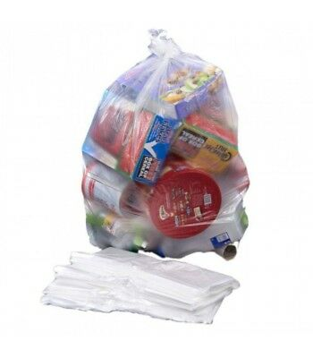 Clear Light Duty Swing Bin Liner (1000 per box)