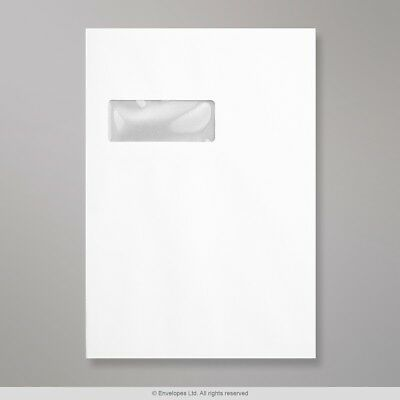 (C4) White Board-Back Envelope 324x229 mm ( HB324W-W )