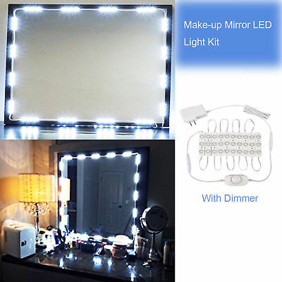 Hollywood Style LED Vanity Mirror Lights Kit for Makeup Dressing Table Dimmer
