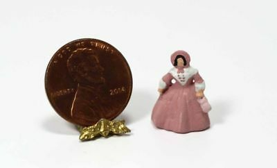 Dollhouse Miniature 1:12 Southern Belle Doll Figurine in Pink by Multi Minis