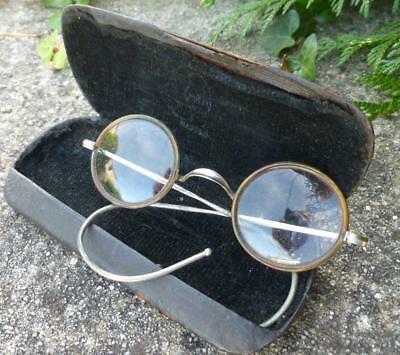 Vintage French 1950's Faux Tortoiseshell Glasses Spectacles