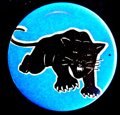 Black Panther Button Made For Movie Born On The 4Th Of July - Original Pinback