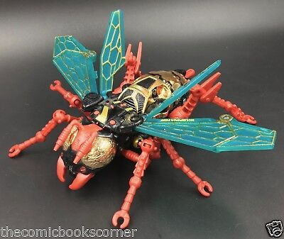 Beast Wars Transformers 1998 Deluxe Predacon Transmetals WASPINATOR 100% Complet