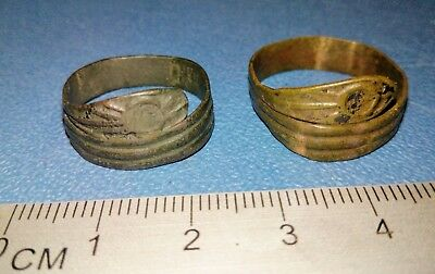 Two Old brass Ring of the 19th century