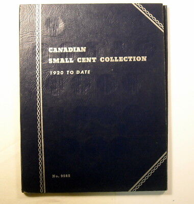Canada Small Cents Collection 1920 To