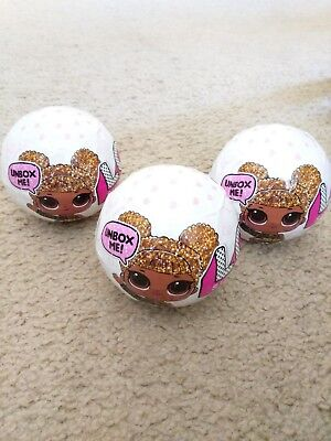 LOL Surprise Doll GLITTER SERIES - Ball Sealed - SUPER B.B. G-009 *AUTHENTIC*