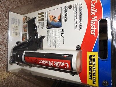 CAULK MASTER PG100 Pneumatic Caulk Gun, 10 oz., Plastic