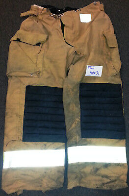 40x31 Pants Firefighter Turnout Bunker Fire Gear Morning Pride P727