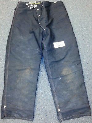 36x32 Pants Firefighter Turnout Bunker Fire Gear w/ Liner Morning Pride P687