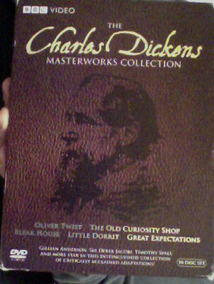 Charles Dickens Masterworks Collection (2009 10 DVD Set)