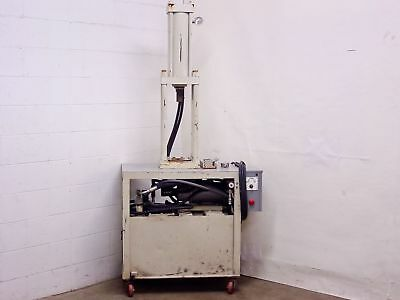 "White 42"" x 24"" x 87"" Hydraulic Press 16"" Stroke 2.5"" Rod 208/220 VAC"