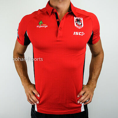 St George Dragons 2017 NRL ISC Performance Polo (Size Small Only)