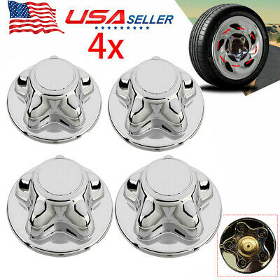 """4x For 1997-2003 FORD F150 F-150 97-02 EXPEDITION Hub Wheel 7"""" Center Cap CHROME"""