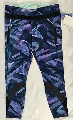 622b4b8e5aa5c8 Lululemon Women Inspire Tight II Athletic Leggings XSWE Purple Black Size 10