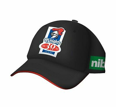 2017 Newcastle Knights Media Cap (Black) - One Size Fits Most
