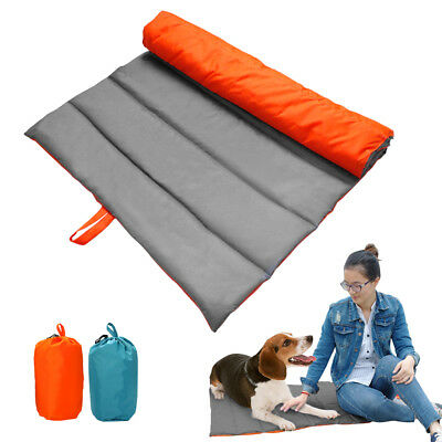 Waterproof Pet Dog Bed Large Outdoor Portable Travel Car Seat Cover Mat Bed