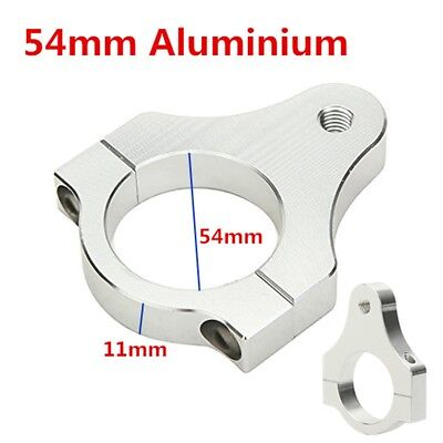 54MM Steering Damper Fork Mounting Clamp Bracket Foot Fixer for Motorcycle Bike
