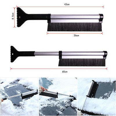 2 in 1 Car Vehicle Durable Snow Ice Scraper Snow Brush Shovel Removal For Winter