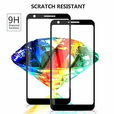 Full Coverage MaxCase Tempered Glass Screen Protector for Google Pixel 2 & 2 XL