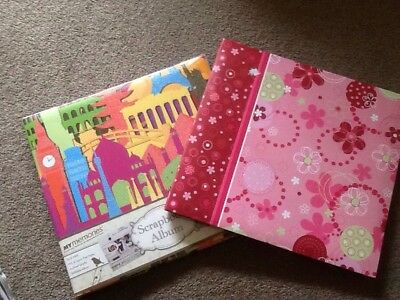 My Memories Scrapbook Albums - Two With Sheets