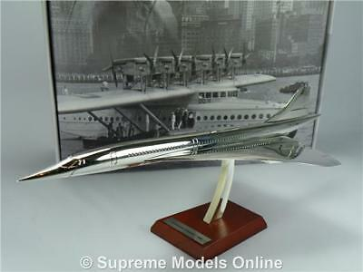 Concorde Model Airplane Aircraft 1:200 Scale Atlas Silver Classics 1969 K8