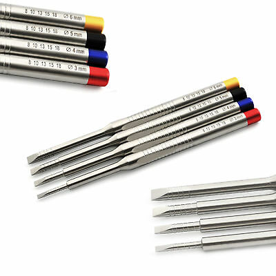 Professional Dental Bone Chisels Spreader Dental Implant Surgery Ortho Lab Tools