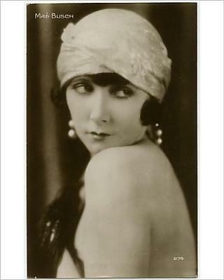 """10""""x8"""" (25x20cm) Print of Mae Busch from Prints Online"""
