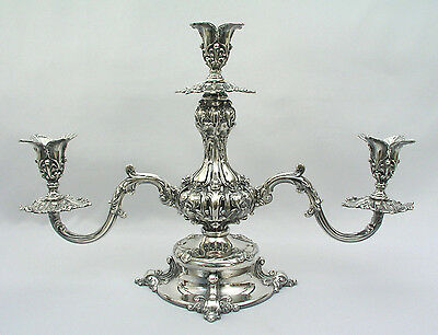 Reed & Barton - # 165 Silverplate Epergne / Candelabra - Gorgeous Spectacular
