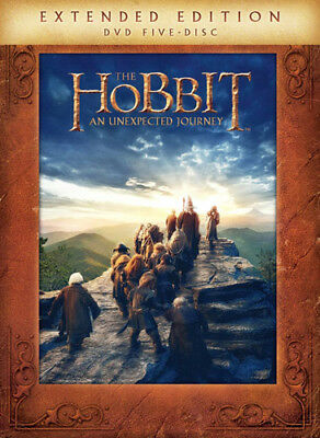 The Hobbit: An Unexpected Journey (5 Disc, Extended Edition) DVD NEW