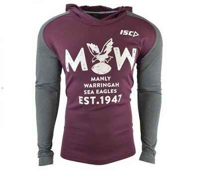 Manly Sea Eagles NRL 2018 Players ISC Warm Up Top/Hoody Sizes S-5XL! In Stock!