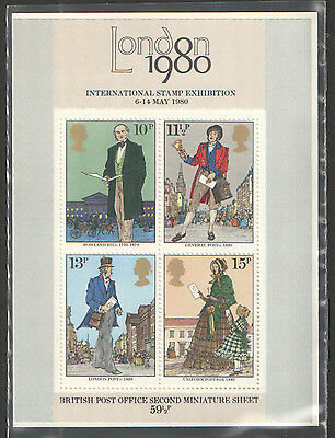 MS1099 1979 Sir Rowland Hill Royal Mail Miniature Sheet