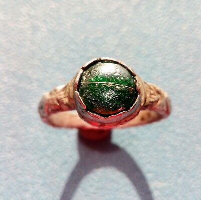 Post Medieval Silver Ring 17th century.