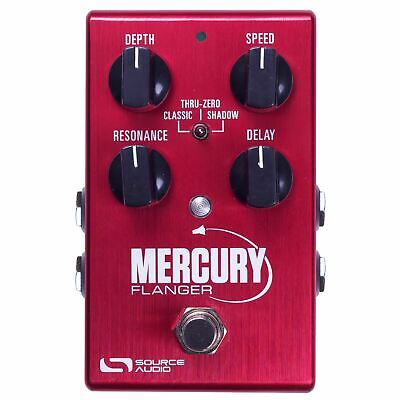 Source Audio One Series Mercury Flanger Effects Pedal (SA240)