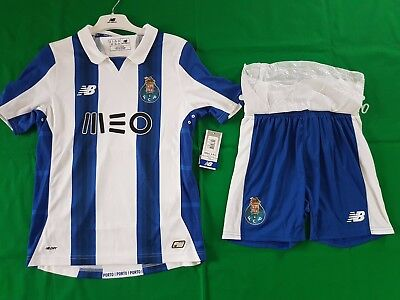 FC Porto Trikot Home 2016/17 New Balance Größe Boys L XL -NEU- Kinder Set