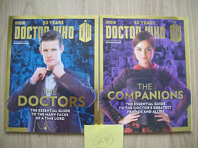 DOCTOR WHO 50 YEARS SPECIALS x2 - THE DOCTORS + THE COMPANIONS ~ SMITH~COLEMAN