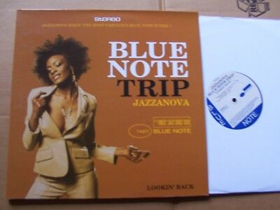 JAZZANOVA,LOOKIN´ BACK (blue note trip) dlp vg+vg+/m(-) blue note rec made in EU