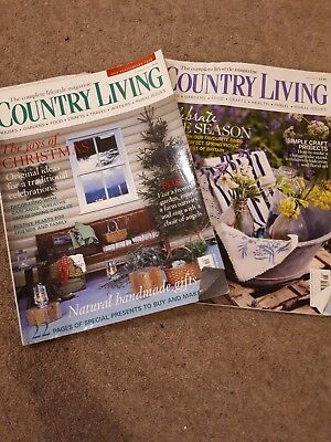 Country living magazine bundle: 29 of them Dec 2005 - May 2012