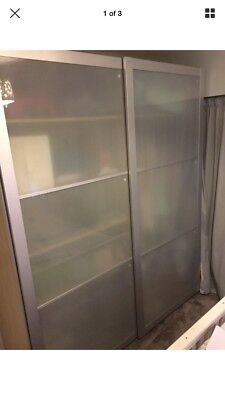 Ikea Pax Wardrobe With Sliding Doors In Good Condition