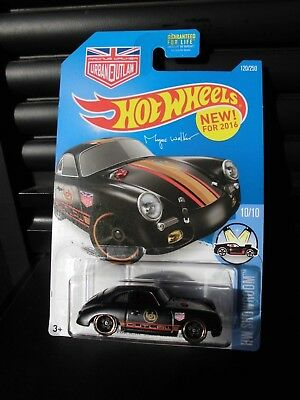 Hot Wheels USA Urban Outlaw - Porsche 356A Outlaw in schwarz
