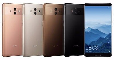 "Huawei Mate 10 ALP-L29 64GB (FACTORY UNLOCKED) 5.9"" Gold Mocha Black Pink"