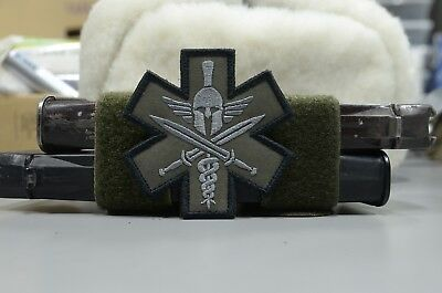 Spartan Medic patch, Tactical morale military patch