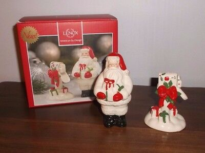LENOX Countdown 'Till Christmas SALT & PEPPER SET ~ Brand New in Box