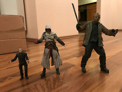 Friday the 13th Jason Voorhees, Saw Jigsaw, Assassin's Creed