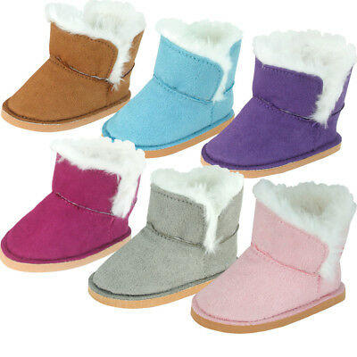 """FAST SHIP! Adorable Winter Sherpa Boots for 18"""" American Girl Doll Clothes"""