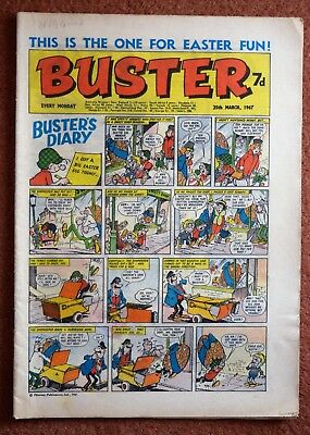BUSTER - 25th March 1967 - EASTER ISSUE