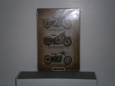 HDMS2 3 Diff . Harley - Davidson Motorcycles Metal Sign 30 cm H X 20 cm W New